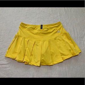 Adidas Women's Yellow Tennis Skirt